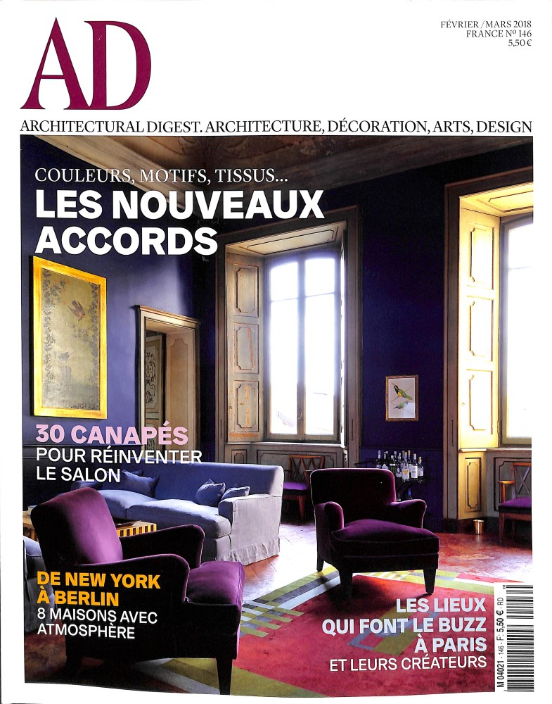 AD - Architectural digest N° 146 January 2018