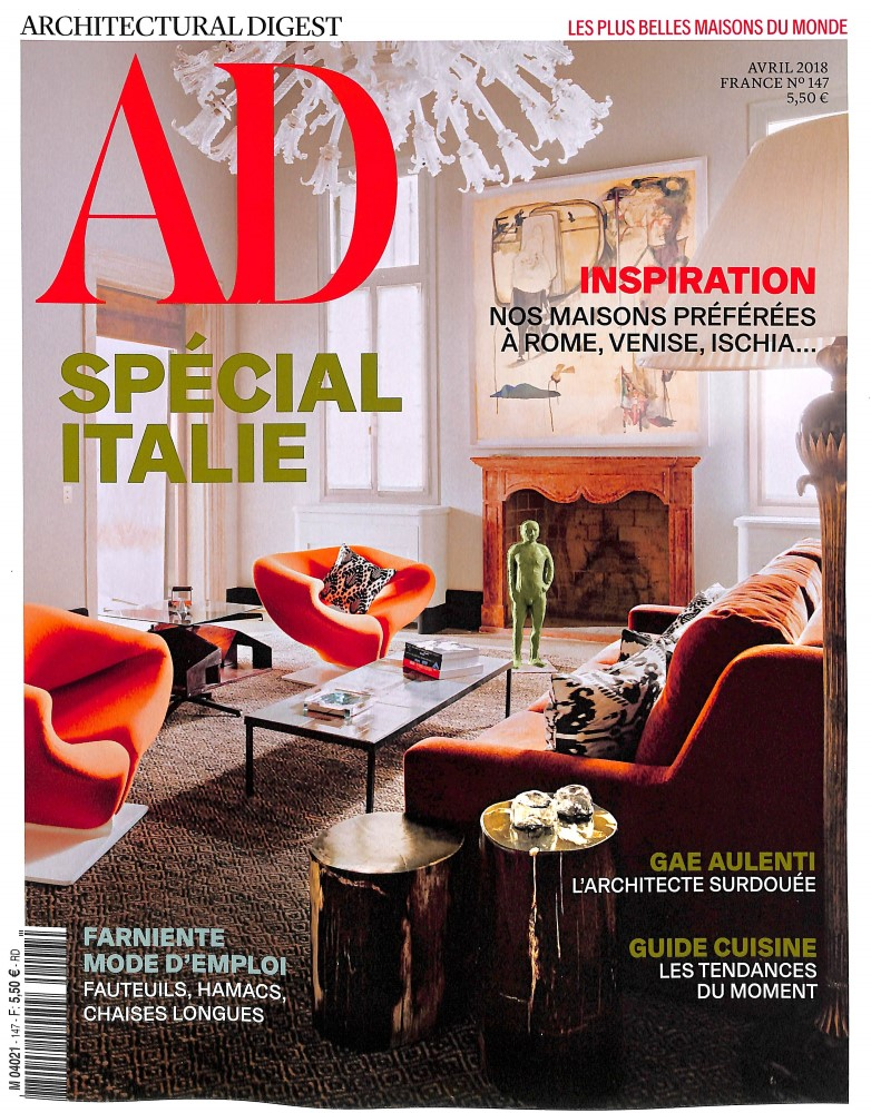 AD - Architectural digest N° 147 March 2018