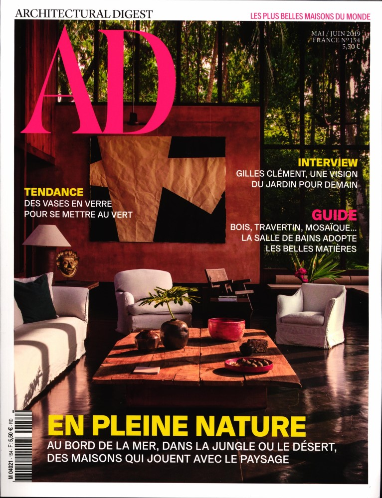 AD - Architectural digest N° 154 Mai 2019