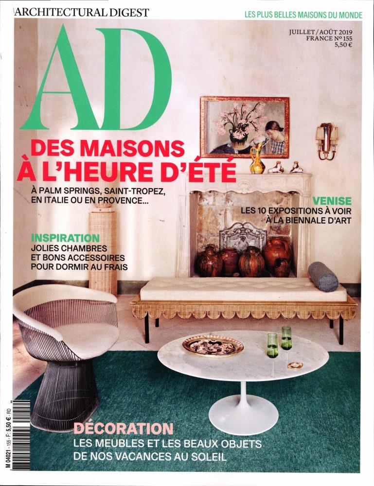 AD - Architectural digest N° 155 Juillet 2019