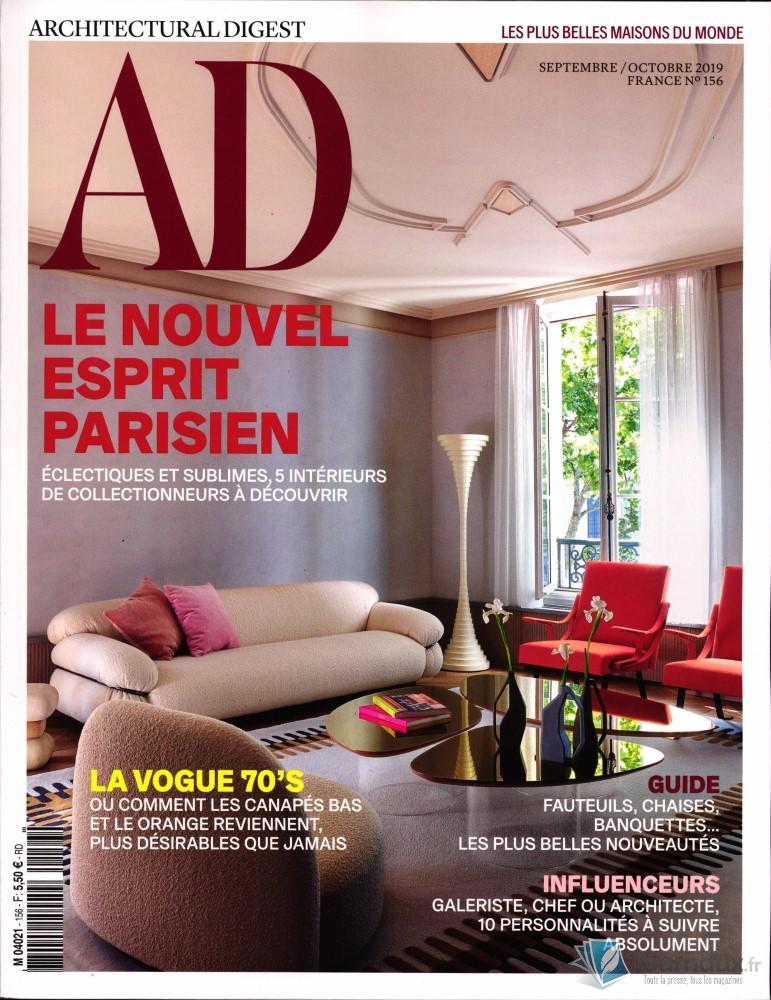 AD - Architectural digest N° 156 Août 2019