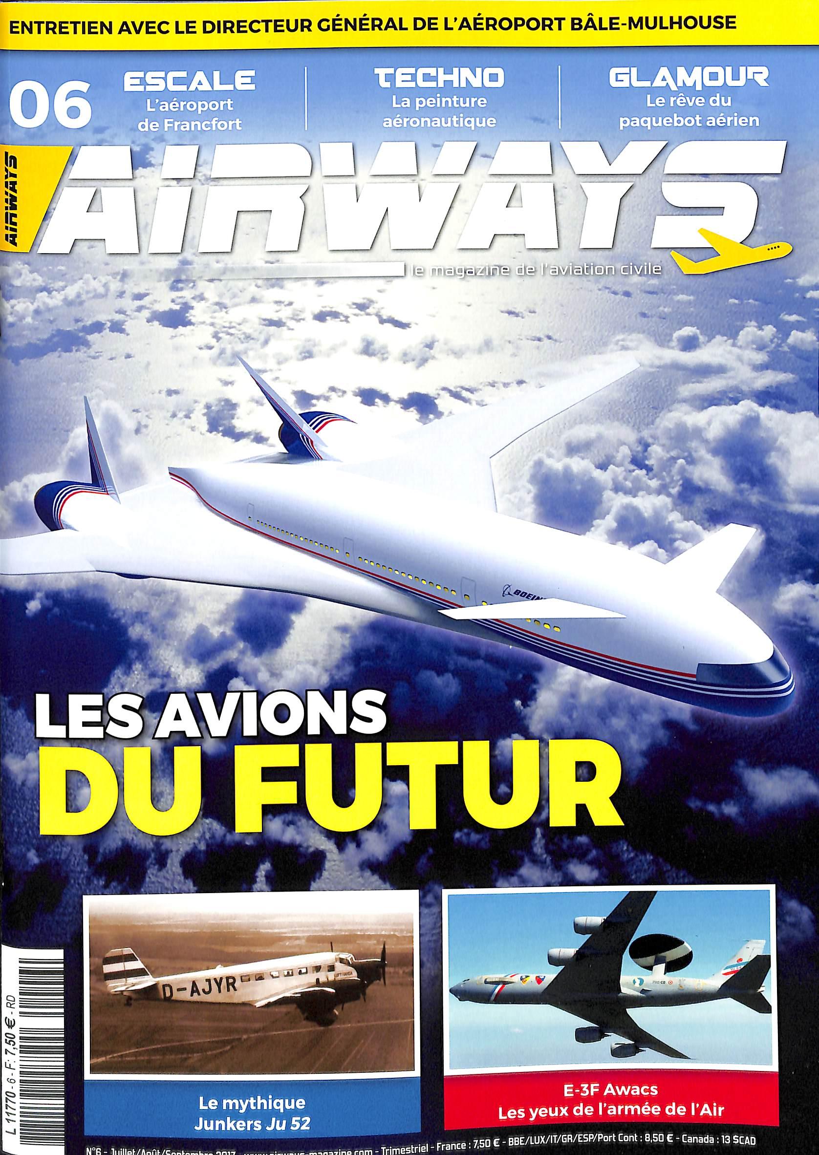 Airways N° 1708 Juillet 2017