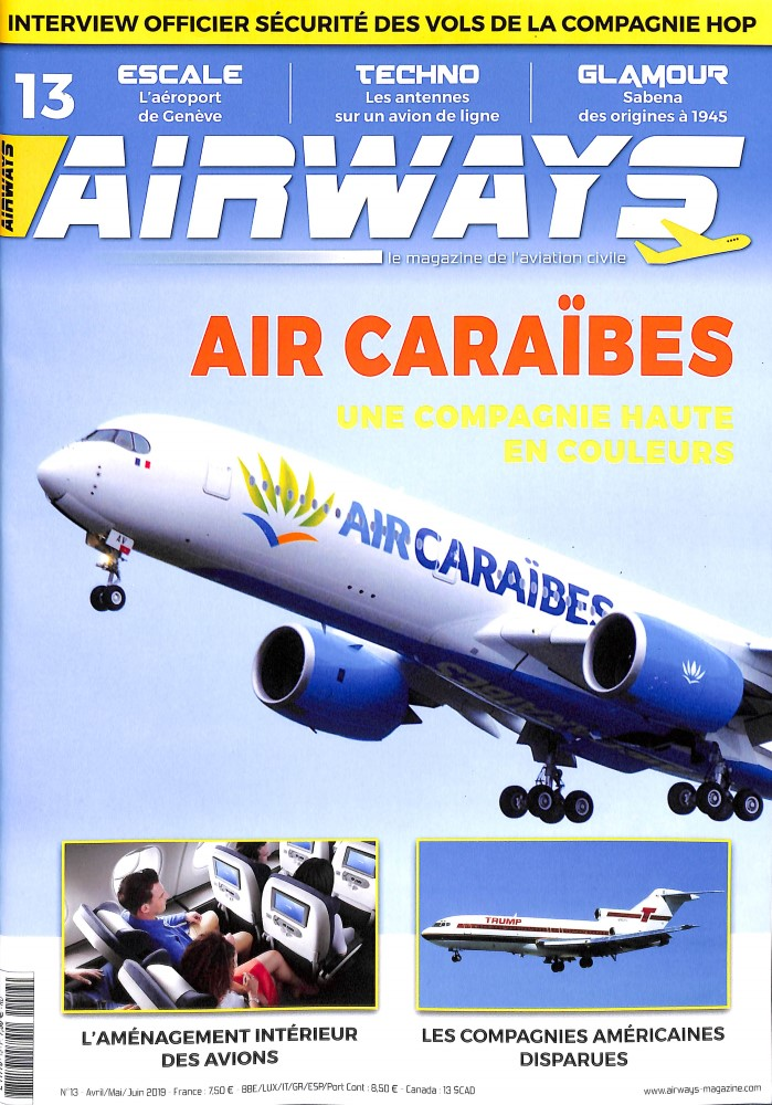 Airways N° 13 Avril 2019