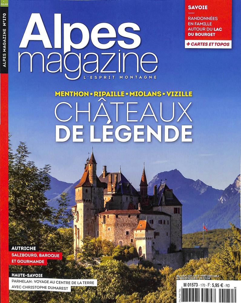 Alpes Magazine N° 170 March 2018
