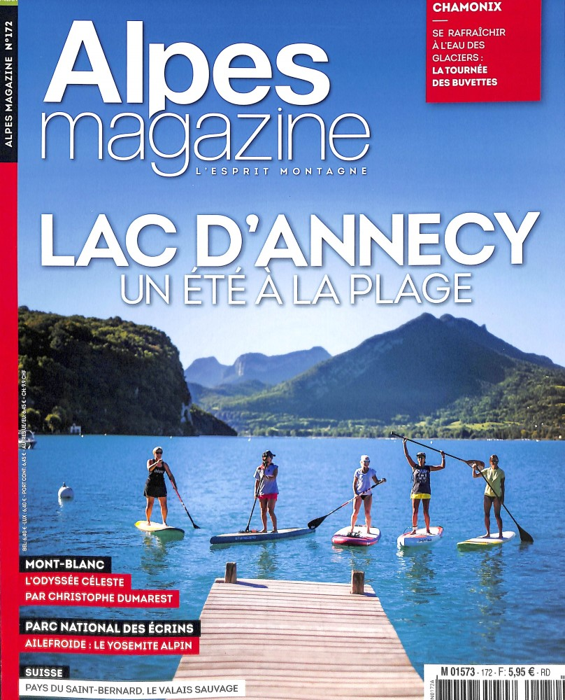 Alpes Magazine N° 172 July 2018