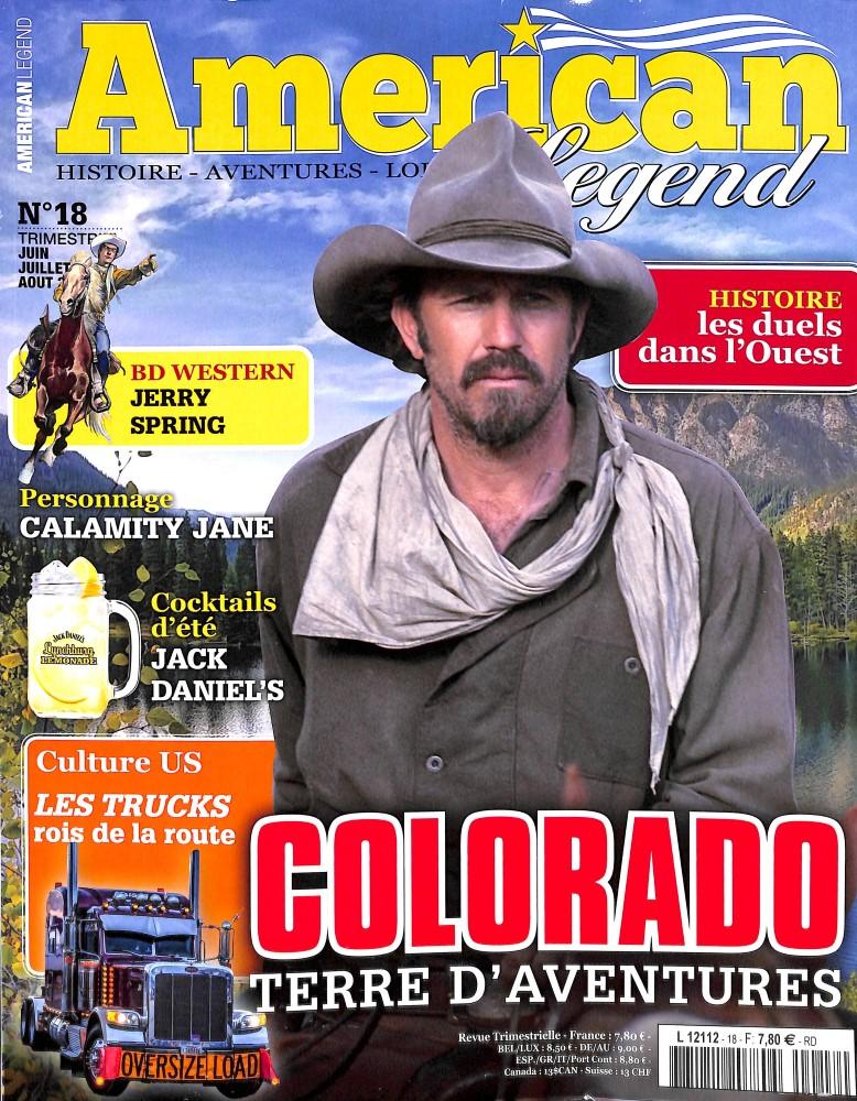 American legend N° 18 June 2018
