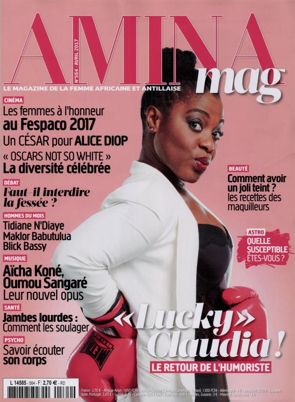 Amina N° 564 Mars 2017