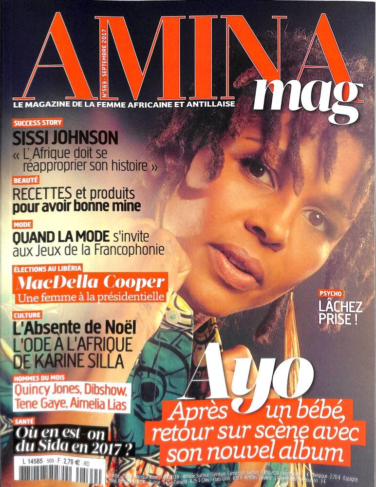 Amina N° 569 Août 2017