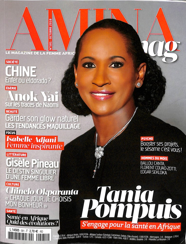 Amina N° 581 September 2018