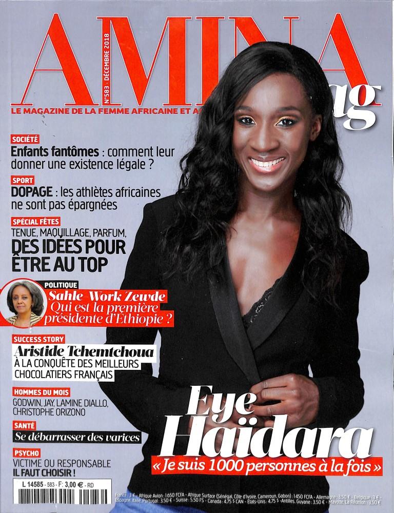 Amina N° 583 November 2018