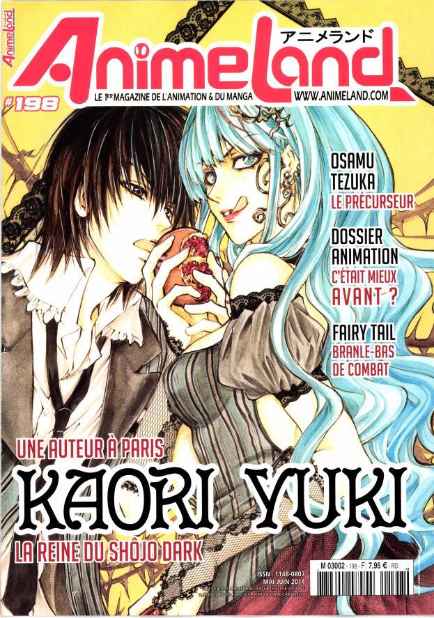 AnimeLand N° 217 Juillet 2017