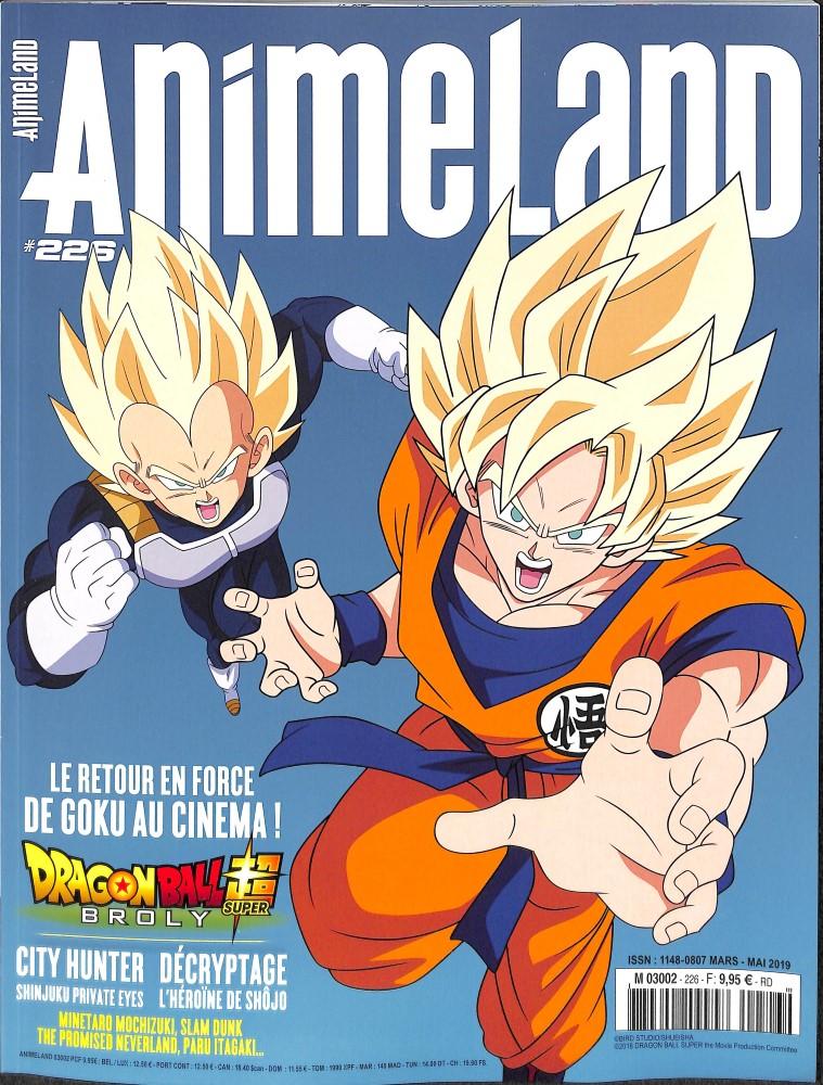 AnimeLand N° 229 Novembre 2019