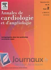 Annales de cardiologie et d'angéiologie