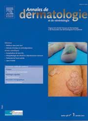 Annales de dermatologie et de vénérologie
