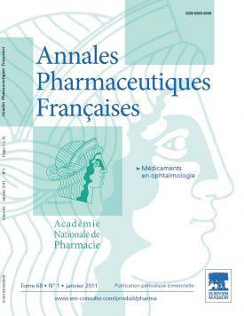 Annales pharmaceutiques françaises