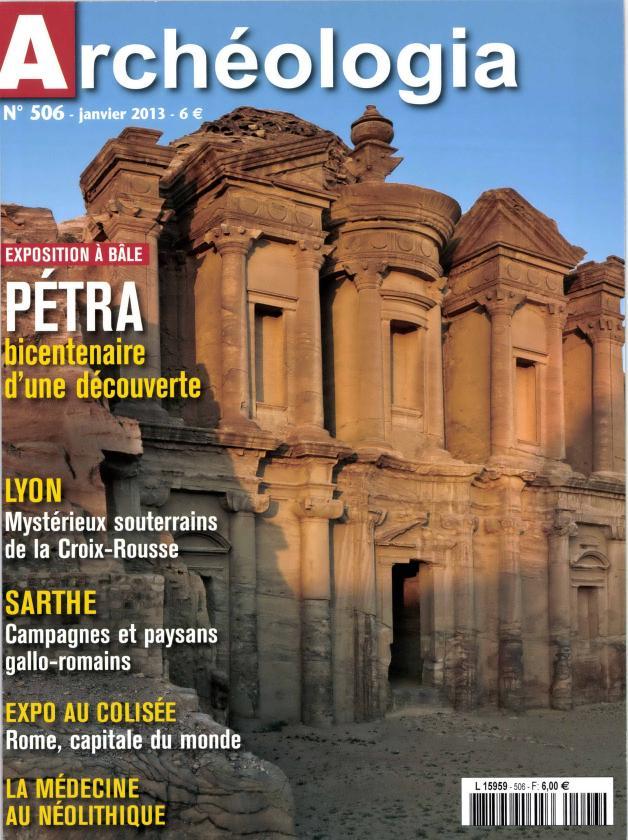Archéologia N° 580 Octobre 2019