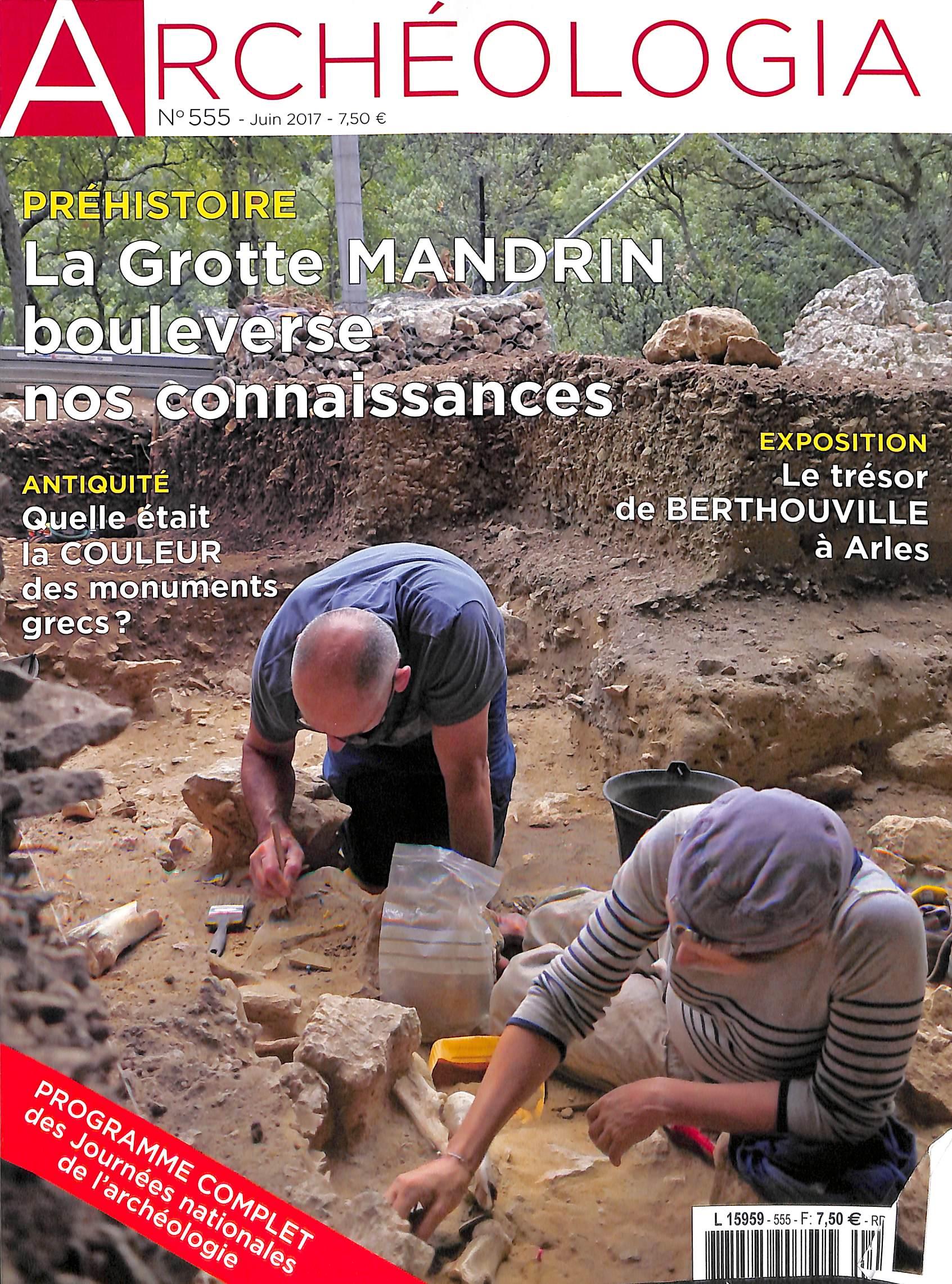 Archéologia N° 555 Juin 2017