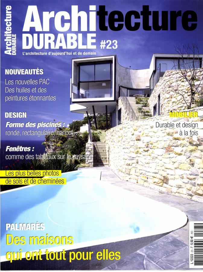 Architecture durable n 23 abonnement architecture for Architecture a vivre magazine