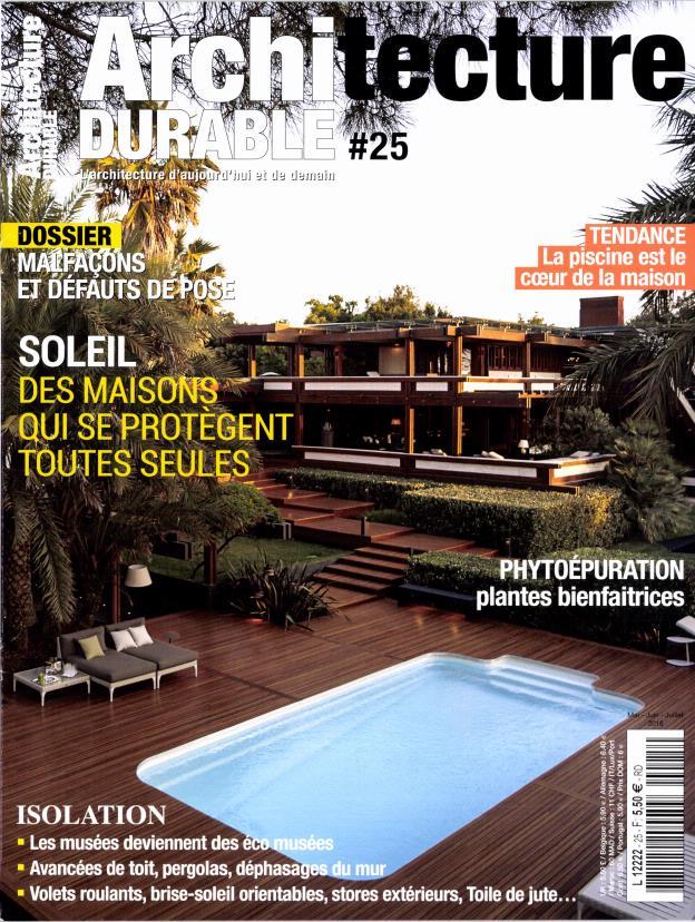 Architecture durable n 25 abonnement architecture for Architecture a vivre magazine