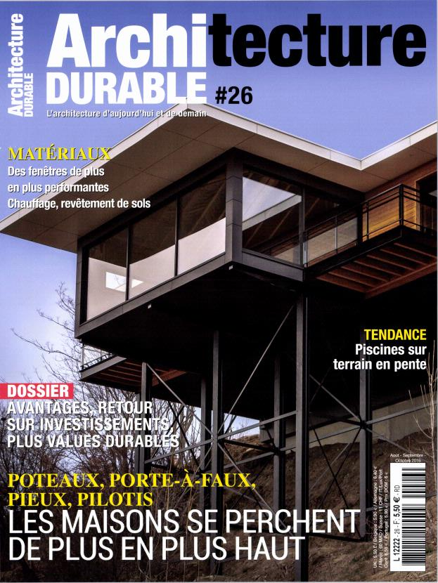Architecture durable n 26 abonnement architecture for Architecture a vivre magazine