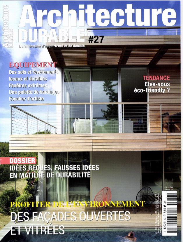 Abonnement architecture durable abonnement magazine par for Architecture durable