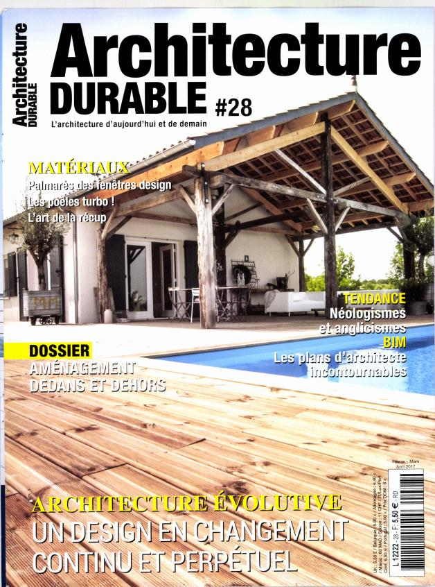 Abonnement architecture durable intermagazines for Architecture durable
