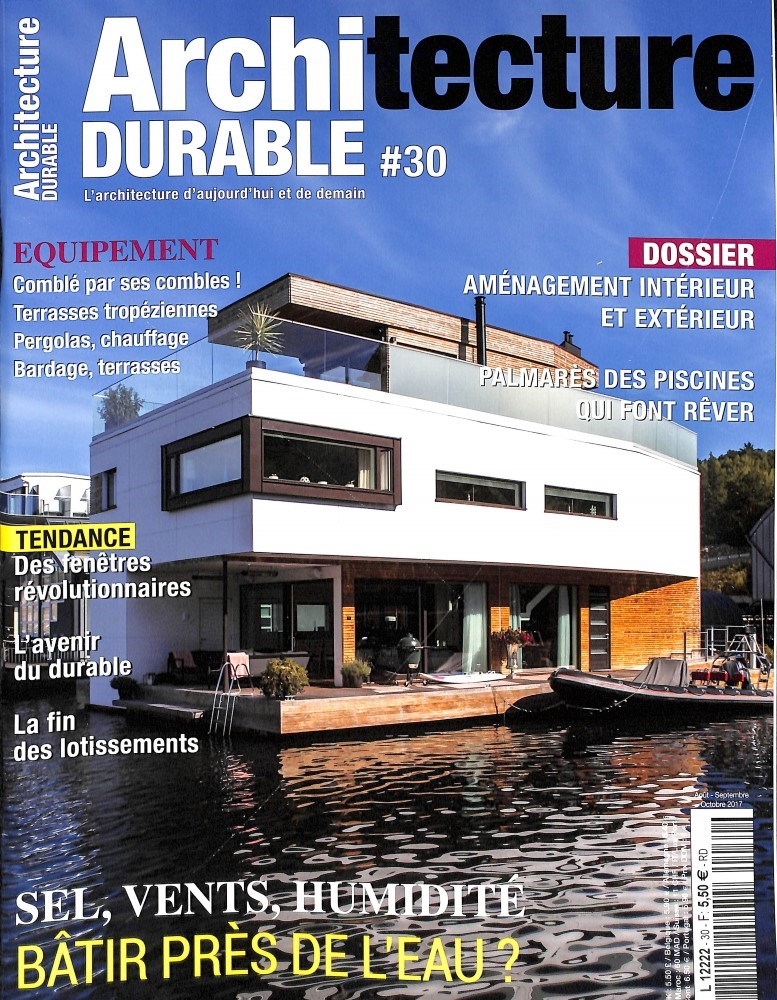Architecture durable N° 30 Août 2017