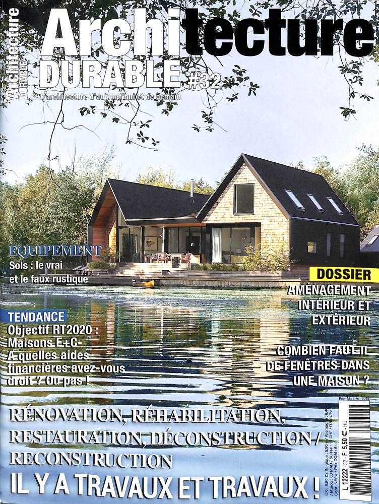 Architecture durable N° 31 Octobre 2017
