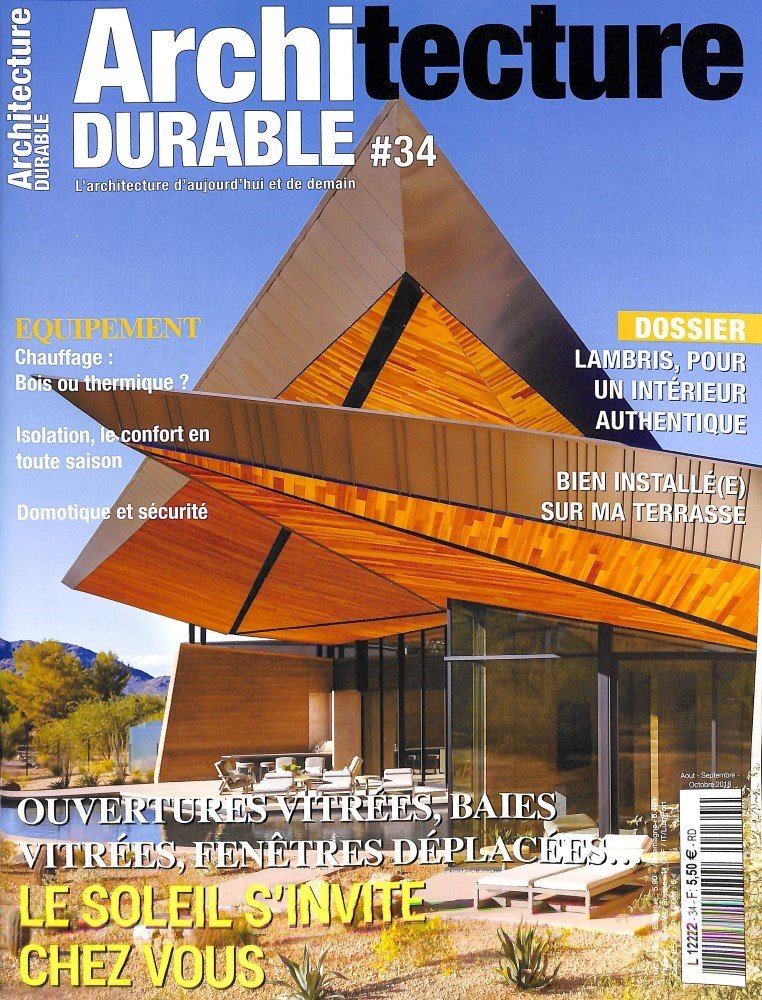 Architecture durable N° 34 August 2018
