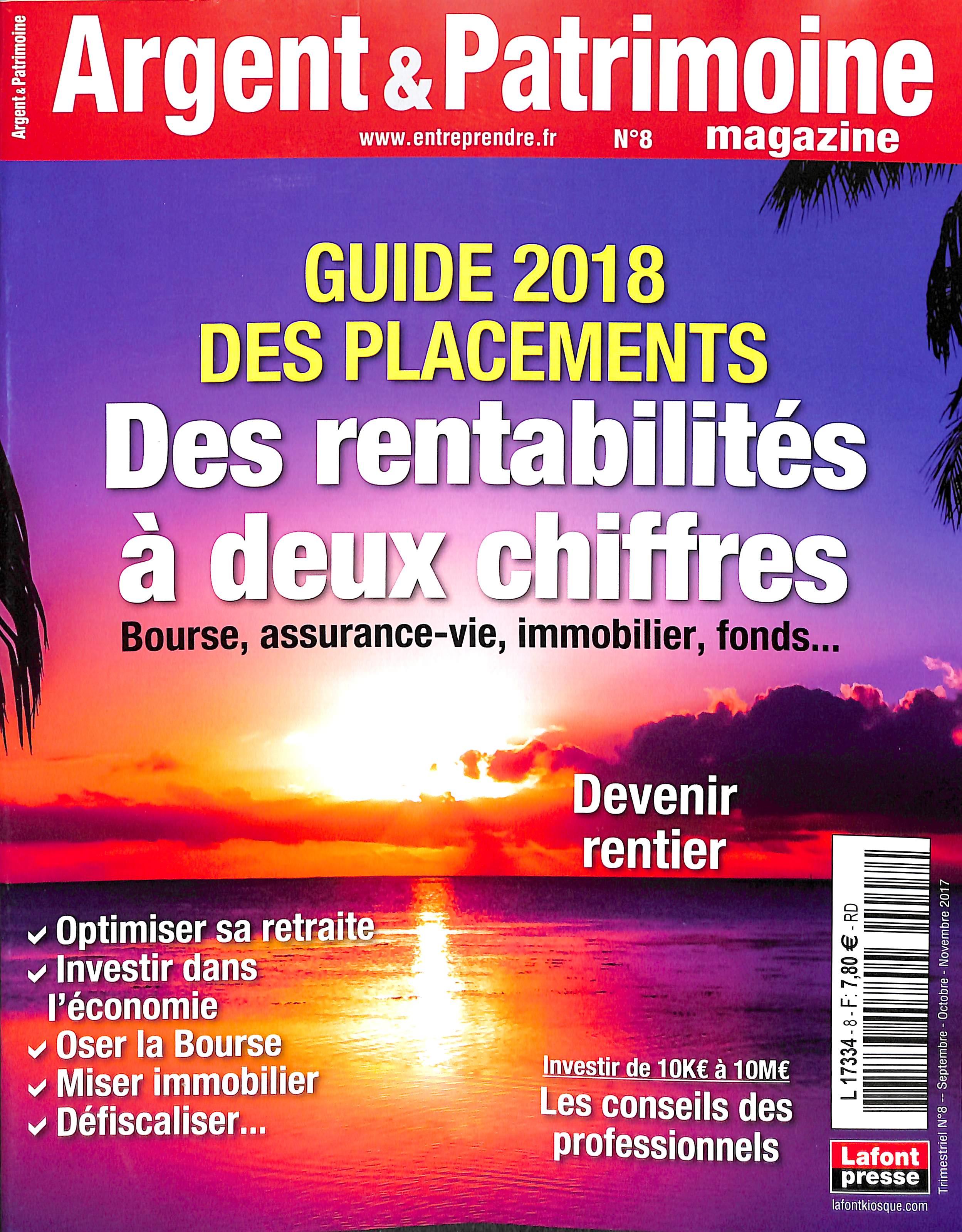 Argent et Patrimoine N° 56 Juillet 2012
