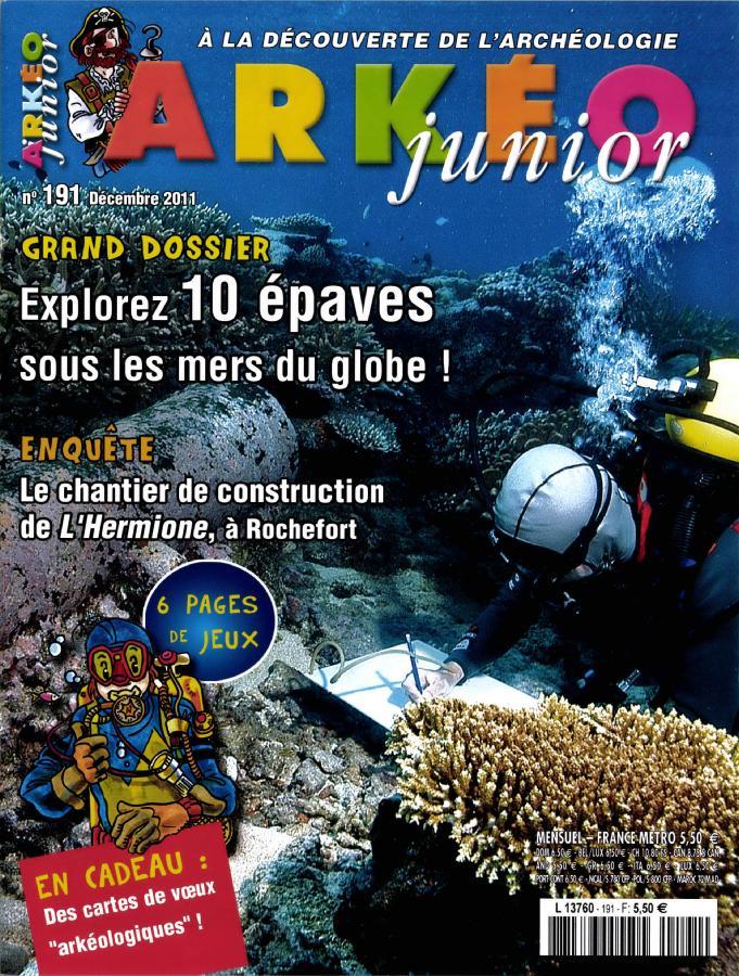 Arkéo Junior N° 252 Juin 2017