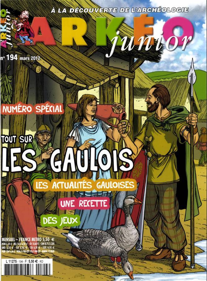 Arkéo Junior N° 250 Mars 2017