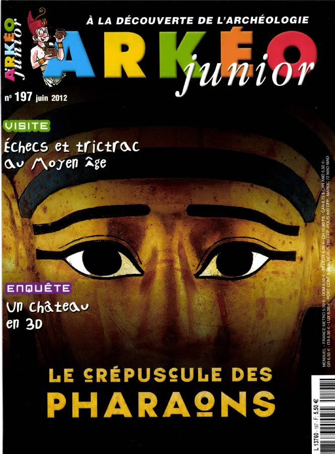Arkéo Junior N° 255 Septembre 2017