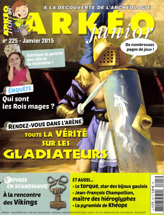Arkéo Junior N° 253 Juin 2017