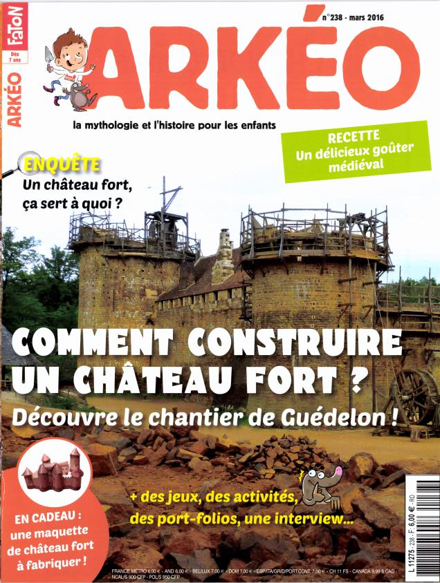 Arkéo Junior N° 251 Avril 2017