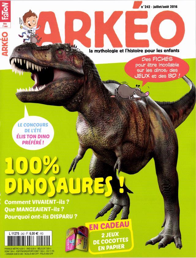 Arkéo Junior N° 254 Août 2017