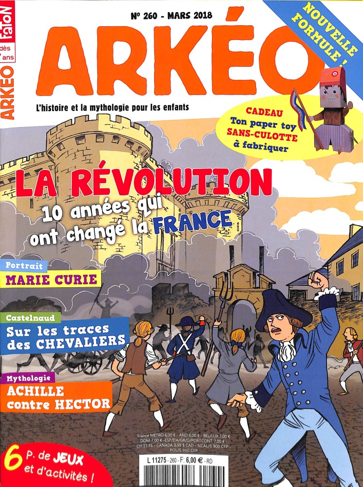 Arkéo Junior N° 261 March 2018