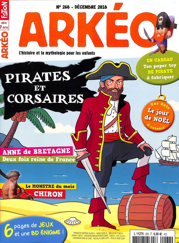 Arkéo Junior N° 268 November 2018