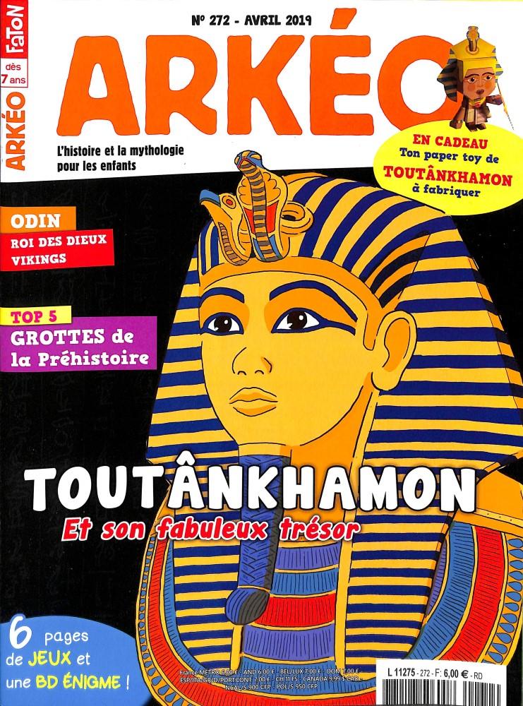 Arkéo Junior N° 272 Mars 2019