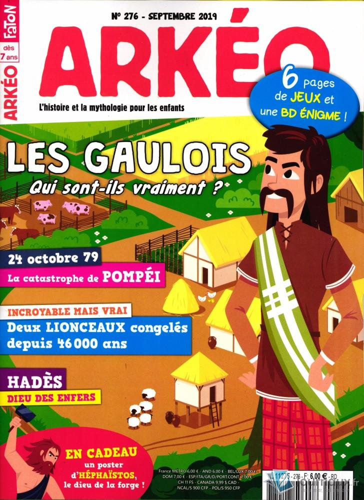 Arkéo Junior N° 277 Septembre 2019