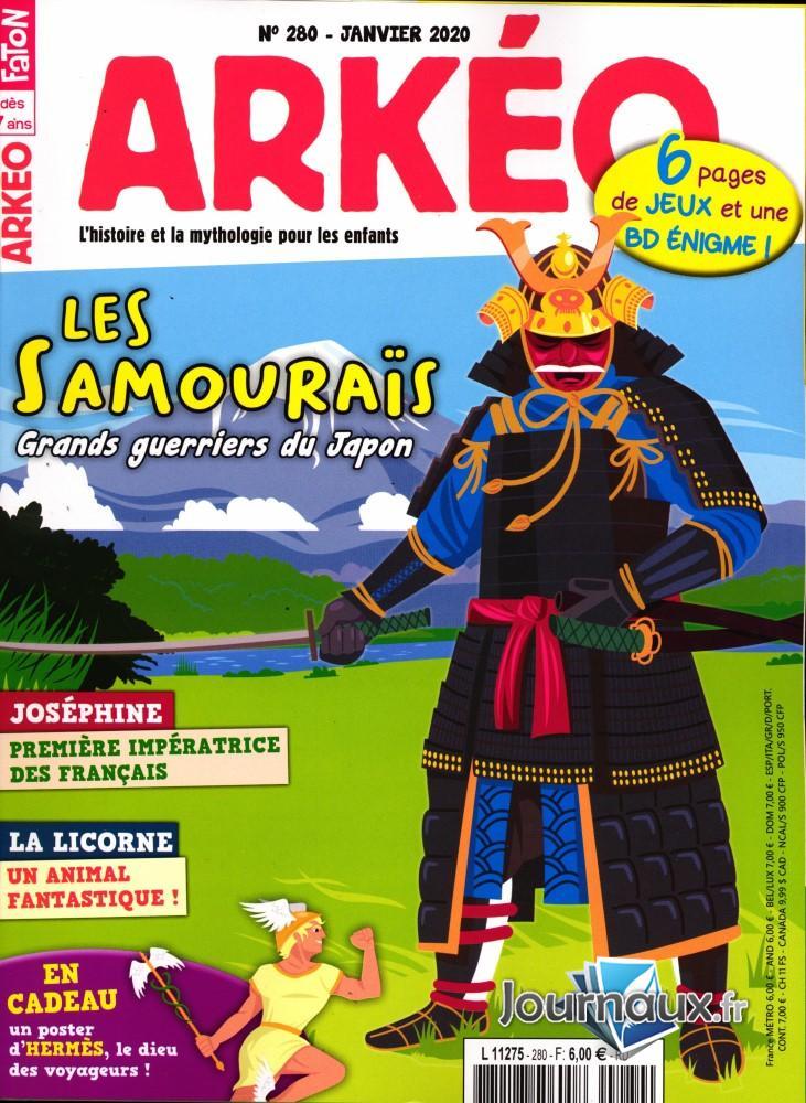 Arkéo Junior N° 280 Décembre 2019