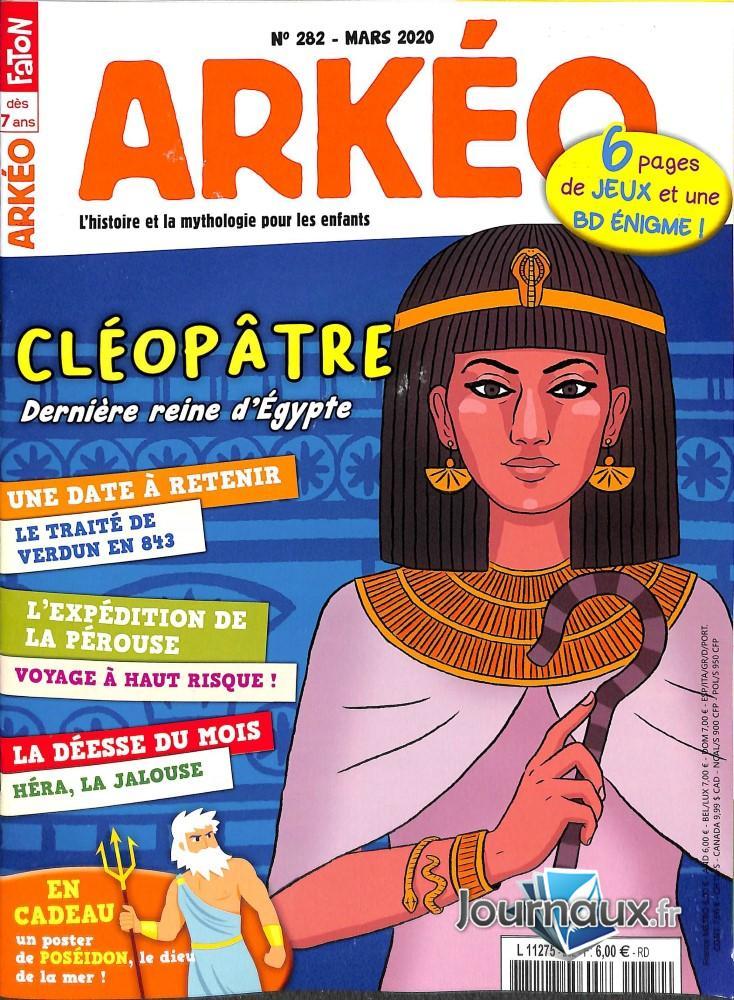 Arkéo Junior N° 283 Avril 2020