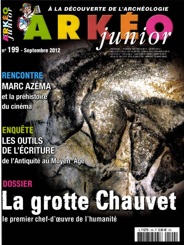 Arkéo Junior N° 250 Mars 2017