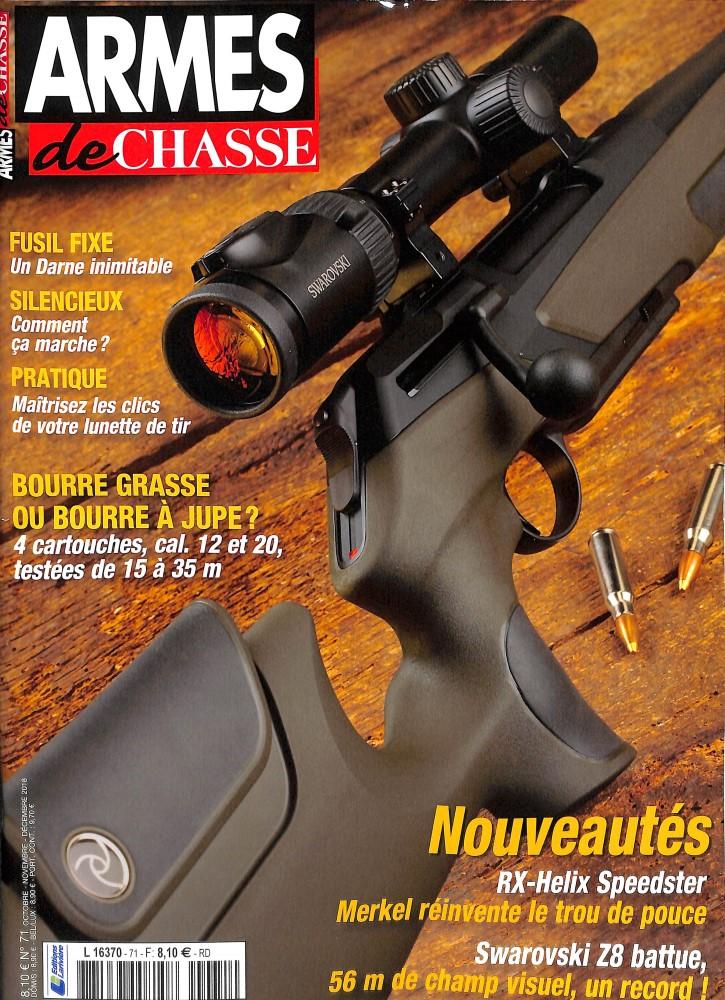Armes de chasse N° 71 September 2018