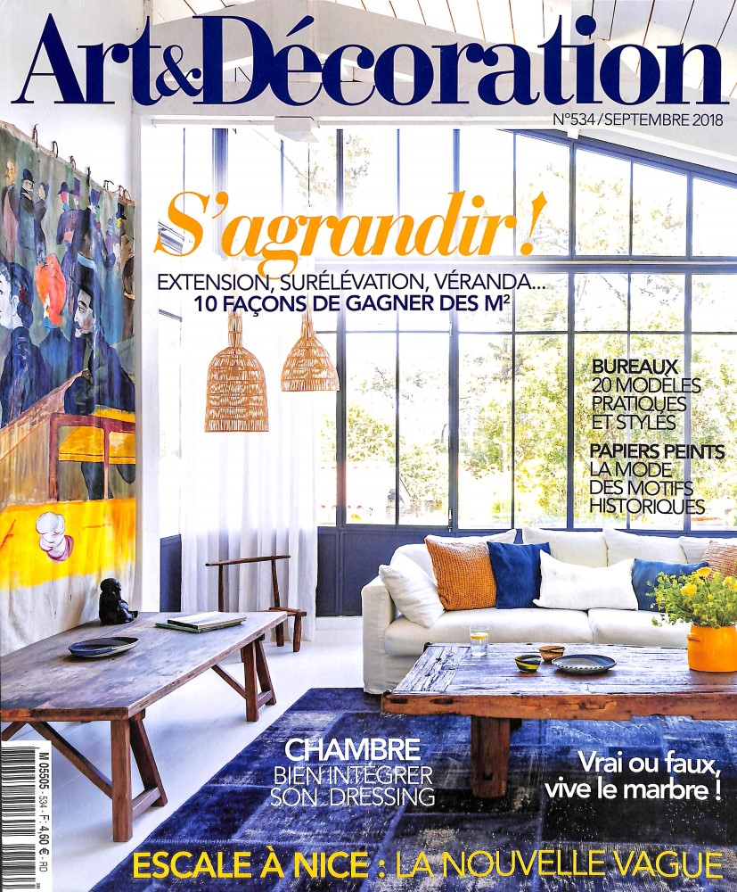 abonnement art et d coration intermagazines. Black Bedroom Furniture Sets. Home Design Ideas