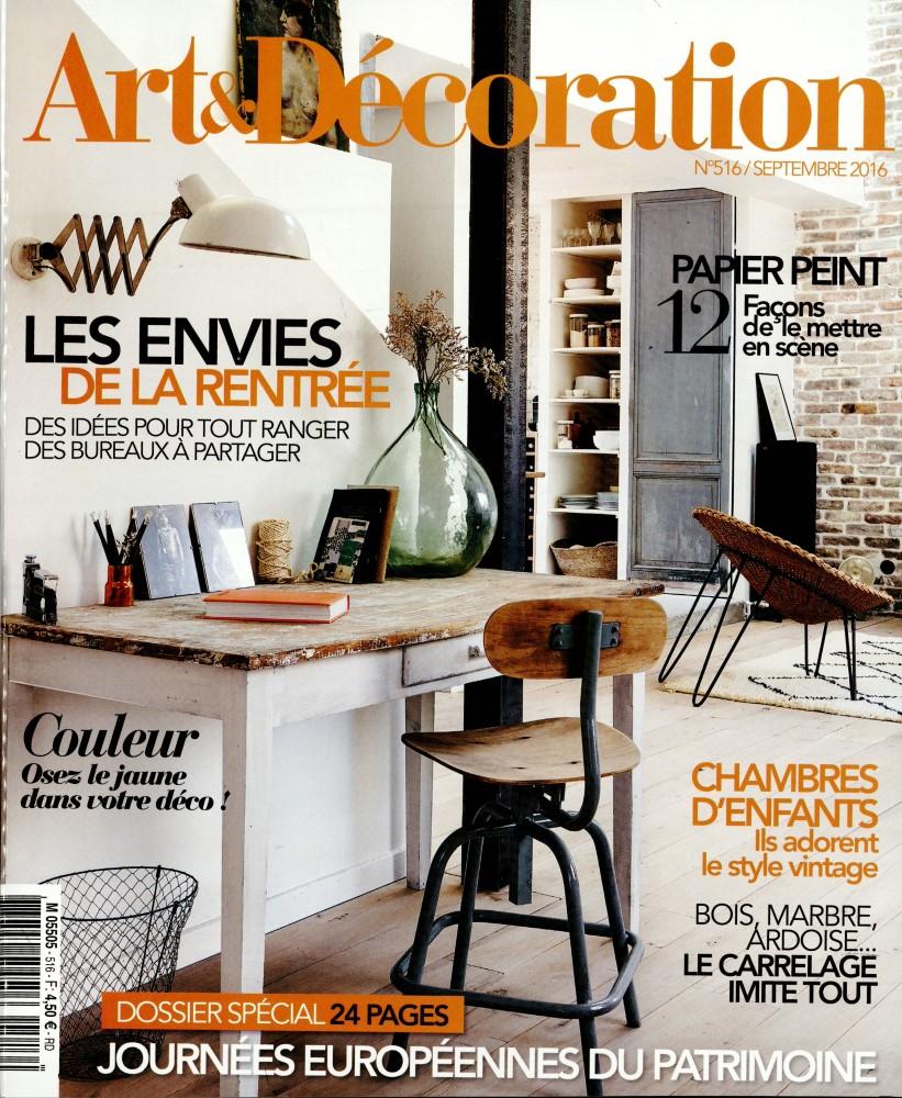 Abonnement Art Et D Coration Presse De France