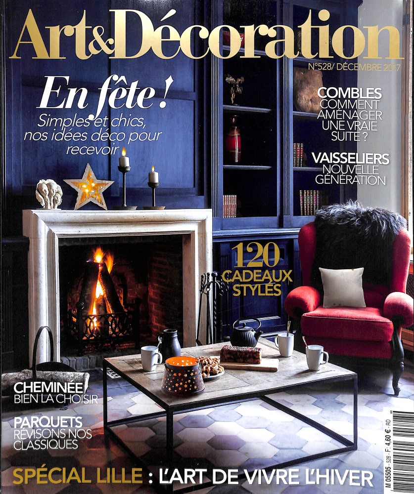 Abonnement art et d coration abonnement magazine par for Art et decoration avril 2016