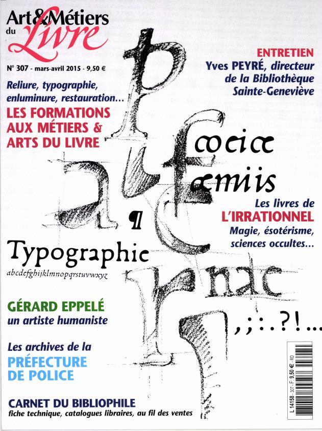 Art et métiers du livre N° 334 Septembre 2019
