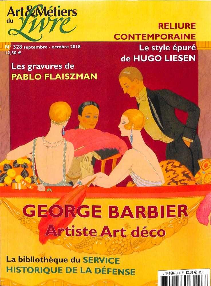 Art et métiers du livre N° 328 September 2018