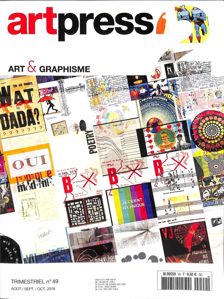 Art press 2 N° 49 August 2018